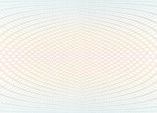 Texture de fond de guilloche - zigzag de gradient Pour le certificat, bon, billet de banque, bon, conception d'argent, devise Photos libres de droits