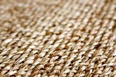 Texture de fond de paille Photographie stock