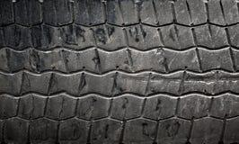 Texture de fond de pneu de véhicule Photographie stock libre de droits