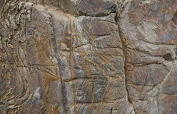 Texture de fond de roche avec le modèle naturel Images libres de droits
