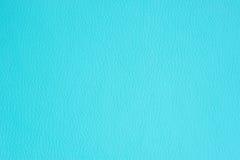 Texture de fond de similicuir de turquoise Photo libre de droits