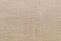 Texture de fond de toile brune Photographie stock libre de droits
