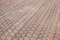 Texture de fond de trottoir de pavé rond Images libres de droits