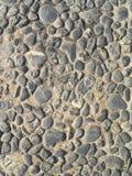 Texture de fond de vieille couche de surface de pavé rond Image stock