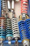 Texture de fond de voiture d'amortisseur Images stock