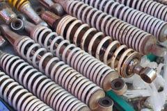 Texture de fond de voiture d'amortisseur Image stock