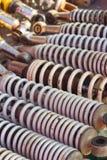 Texture de fond de voiture d'amortisseur Photo stock