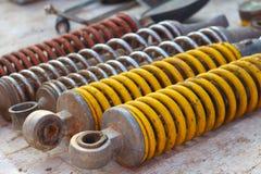 Texture de fond de voiture d'amortisseur Photographie stock libre de droits