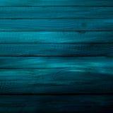 Texture de fond des conseils bleus en bois Images libres de droits