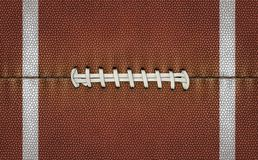 Texture de fond du football Photographie stock