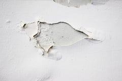 Texture de fond du mur en béton grunge blanc avec la peinture d'épluchage Photos libres de droits