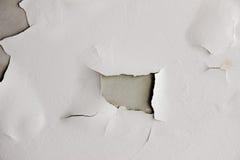 Texture de fond du mur en béton grunge blanc avec la peinture d'épluchage Photographie stock