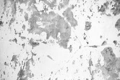 Texture de fond du mur en béton sale blanc Photographie stock libre de droits