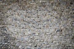 Texture de fond du mur en pierre de château médiéval Photographie stock