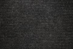 Texture de fond de la pose de tapis noire photographie stock libre de droits