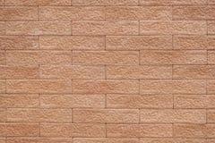 Texture de fond de mur de briques de Brown Photographie stock