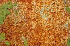 Texture de fond de mur de fer peint par vintage image stock