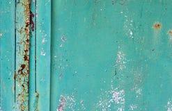 Texture de fond de mur de fer peint par vintage images libres de droits