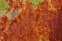 Texture de fond de mur de fer peint par vintage photos stock