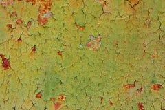 Texture de fond de mur de fer peint par vintage images stock