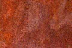 Texture de fond de mur de fer peint par vintage photographie stock