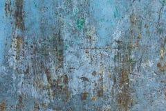 Texture de fond peint rouillé de mur de fer de cru photos libres de droits
