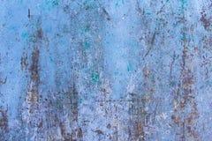 Texture de fond peint rouillé de mur de fer de cru photographie stock
