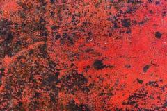 Texture de fond peint rouillé de mur de fer de cru photo libre de droits
