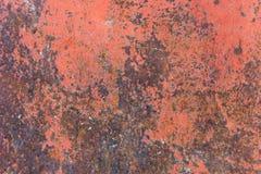 Texture de fond peint rouillé de mur de fer de cru image libre de droits