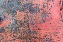 Texture de fond peint rouillé de mur de fer de cru images libres de droits