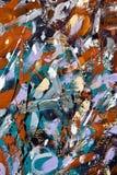 Texture de fond peinte par abstrait image stock