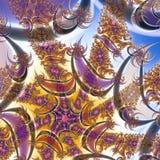 Texture de fractale 2D Illustration d'ordinateur photographie stock libre de droits