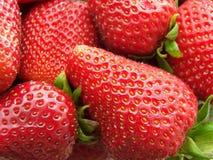 Texture de fraise Images libres de droits