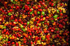 Texture de fruit glacé Photographie stock