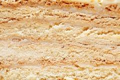 Texture de gâteau Images stock