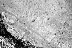 Texture de glace Photos libres de droits