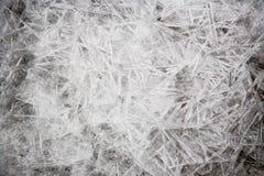 Texture de glace normale. Photographie stock libre de droits