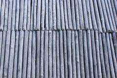 Texture de grands vieux et en bois rondins Photographie stock
