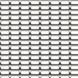 Texture de gril en métal Photographie stock