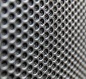 Texture de gril de haut-parleur photos libres de droits