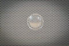 Texture de grille de haut-parleur Photos libres de droits
