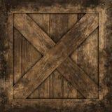 Texture de grunge de caisses. Image libre de droits