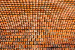 Texture de haute qualité de tuiles de toit Photographie stock libre de droits