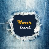 Texture de jeans de denim images stock