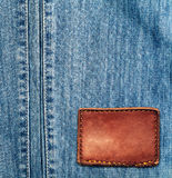 Texture de jeans de denim Photos libres de droits