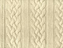 Texture de Knit Images libres de droits