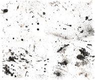 Texture 2 de l'éclaboussure Haut-recherche Photo libre de droits
