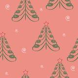 Texture de l'arbre de Noël background.seamless. Photos libres de droits