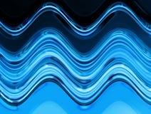 Texture de l'eau bleue Image libre de droits