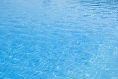 Texture de l'eau bleue Photos libres de droits